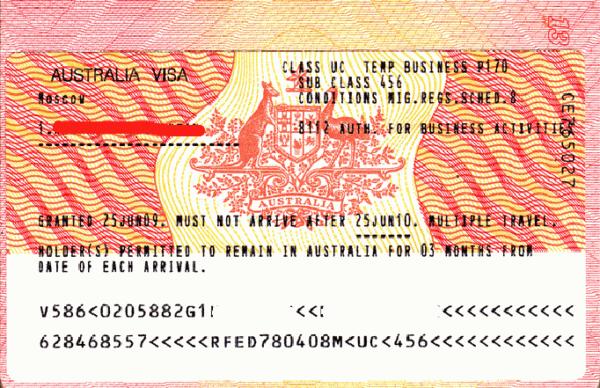 Иммиграция в Австралию российских граждан